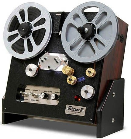 8/16MM Film to Hard Drive, DVD or Blu-ray Pricing - Film to