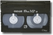 8mm High-8 Digital8 Video Transfer